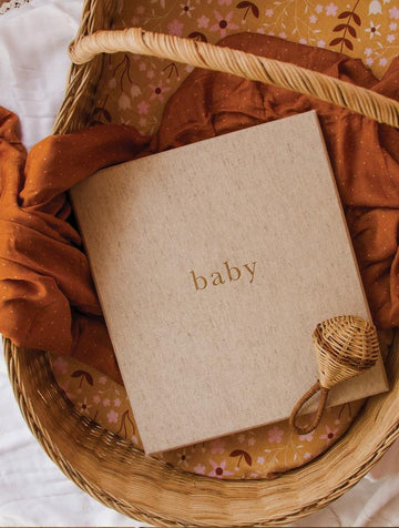 Write to Me - Baby. Your First Five Years - Oatmeal