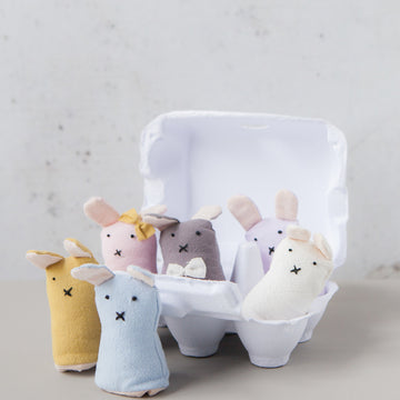 Down To The Woods - Finger Puppet Batch of Bunnies