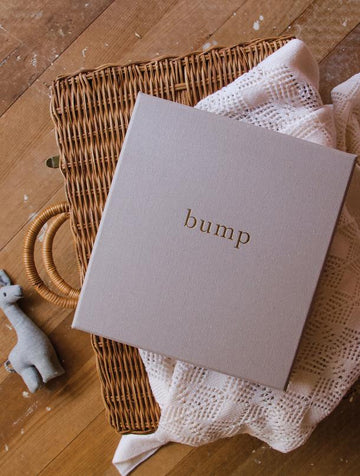 Write to Me - Bump - My Pregnancy Journal - Grey