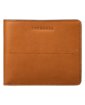 The Horse - Barney Leather Wallet - Tan