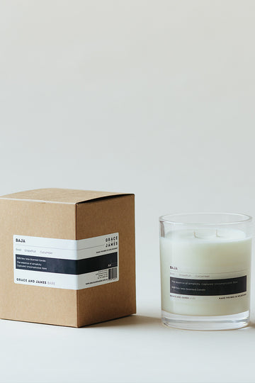Grace & James - Bare Baja Candle - XL (400ml)