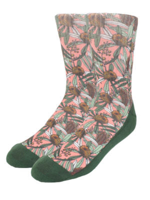 Peggy and Finn - Banksia Pink socks