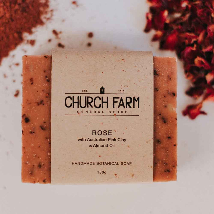 Church Farm - Handmade Soap - Rose