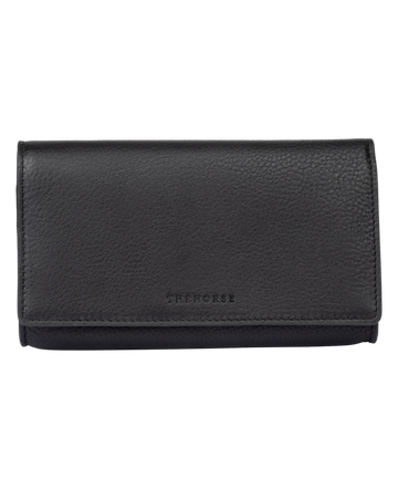 The Horse - Charlie Leather Wallet - Black
