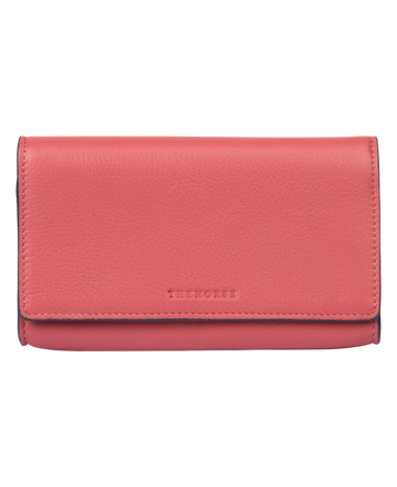 The Horse - Charlie Leather Wallet - Rose Pink