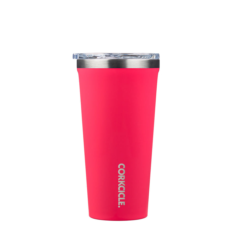 Corkcicle - Classic Tumbler 475ml - Flamingo Insulated Stainless Steel Cup