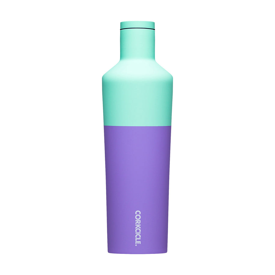 Corkcicle - Colour Block Canteen 750ml - Mint Berry Insulated Stainless Steel Bottle