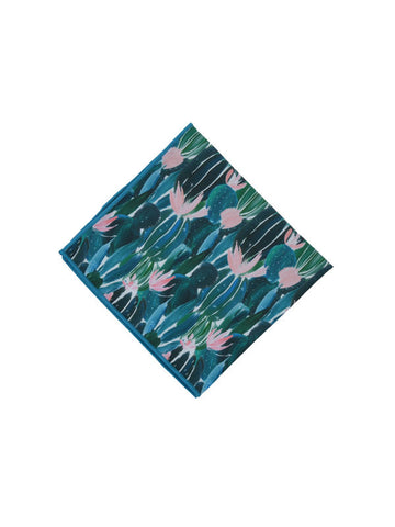 Peggy & Finn - Prickly Pear Pocket Square