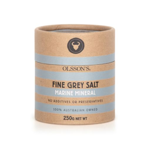 Olsson's Salt - Marine Mineral Fine Grey Salt 250g
