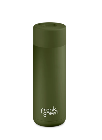 Frank Green - Reusable Ceramic Cup - Khaki - 20oz