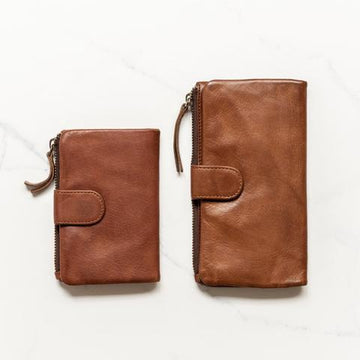 Juju & Co - Small Capri Wallet - Cognac