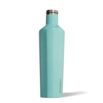Corkcicle - Classic Canteen 750ml - Turquoise Insulated Stainless Steel Bottle