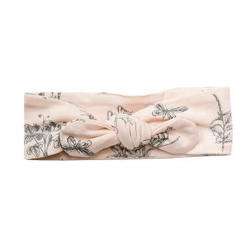Burrow and Be - Baby Head Band - Blush Meadow