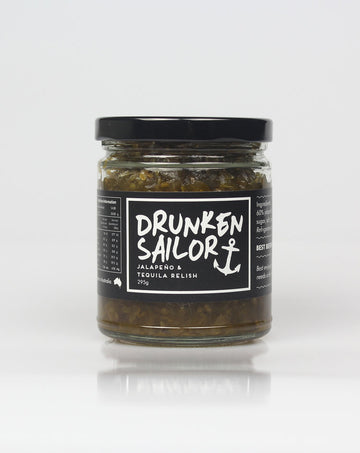 Drunken Sailor - Jalapeno & Tequila Relish 295g