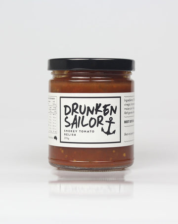 Drunken Sailor - Smokey Tomato Relish 295g