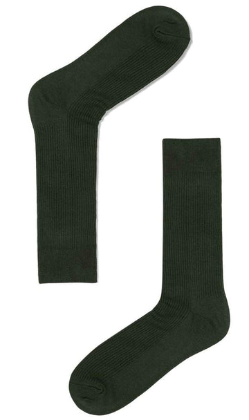 Otaa - Forest Green Cotton-Blend Socks