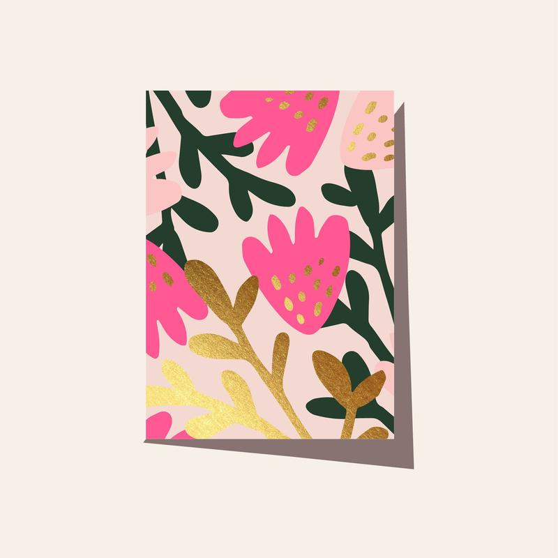 Elm Paper - TROPICAL PINK