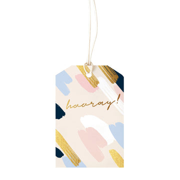 ELM Paper - Painty Blush Gift Tag