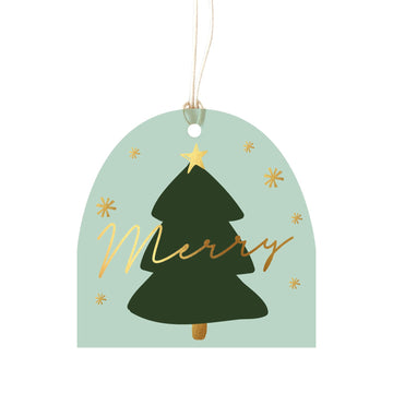 ELM Paper - Luxe Merry Tree - Tag