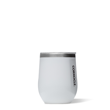 Corkcicle - Classic Stemless 355ml - White Insulated Stainless Steel Cup