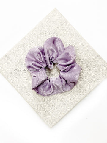 Angels Whisper - Raine Satin Scrunchie - Lilac