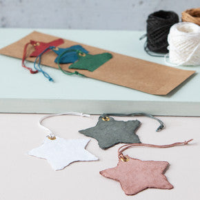 Down To The Woods - Star Paper Swing Tag Set