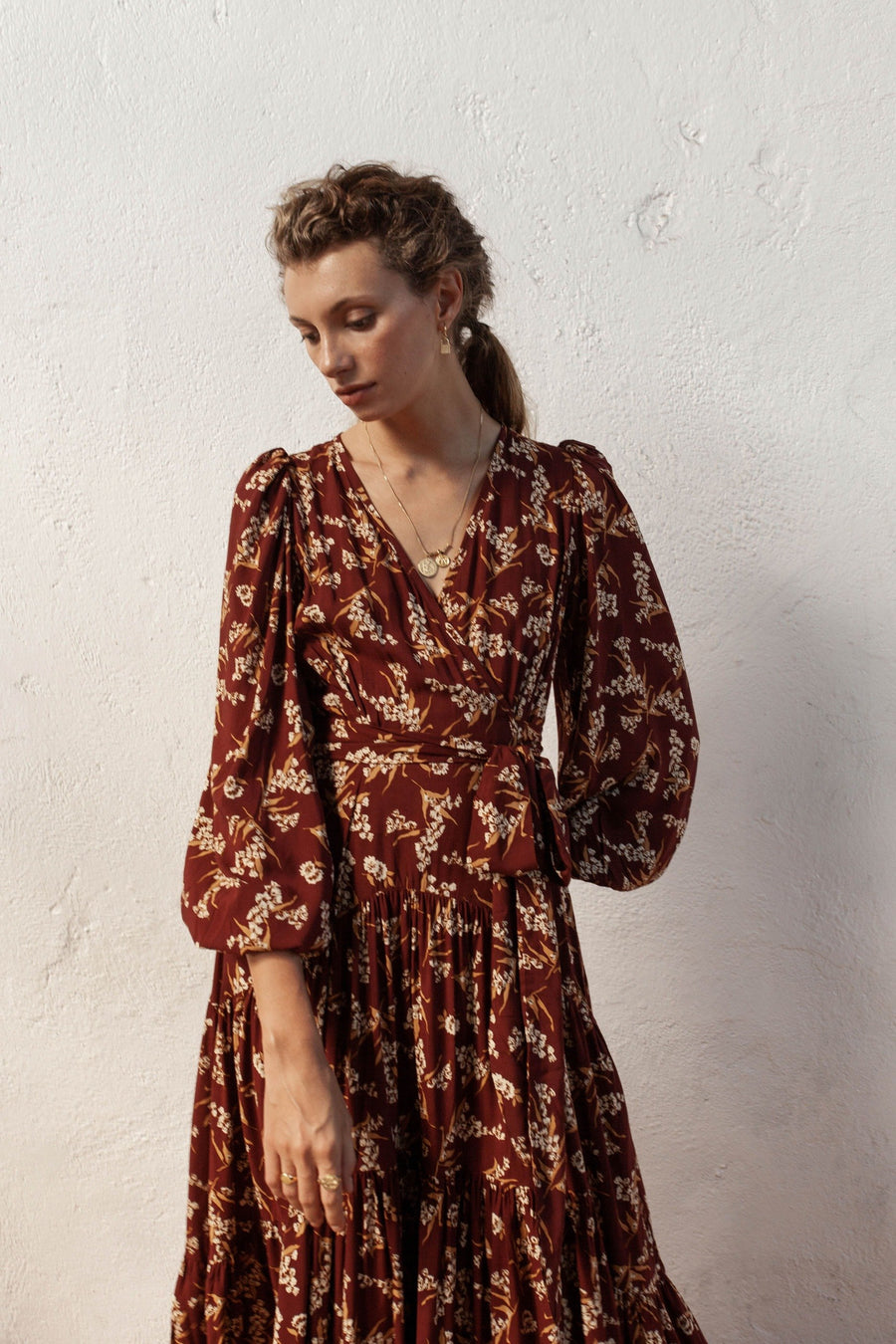 Bird & Kite - Brava Dress - Native Blooms