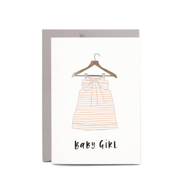 In The Daylight - Baby Girl Greeting Card