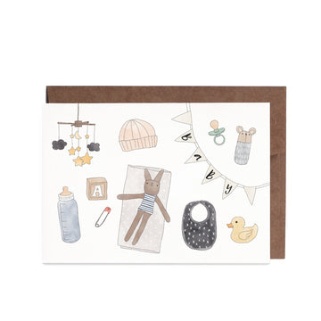In The Daylight - Baby Items Greeting Card