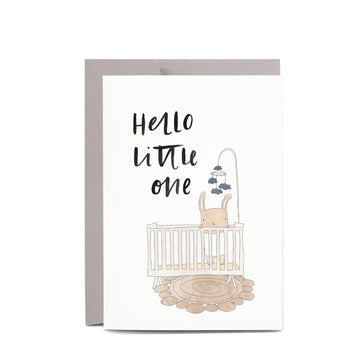 In The Daylight - Baby Crib Greeting Card