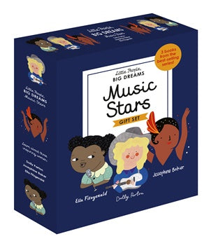Music Stars - A Little People, Big Dreams Box Set