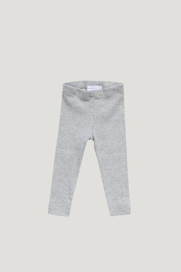 Jamie Kay - Original Cotton Legging - Light Grey Marle