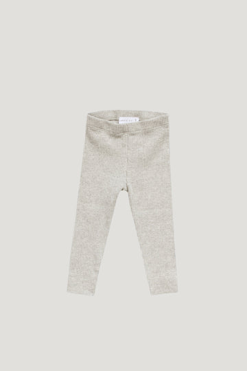 Jamie Kay - Original Cotton Modal Legging - Oatmeal Marle