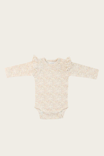 Jamie Kay - Frill Bodysuit - Forget Me Not