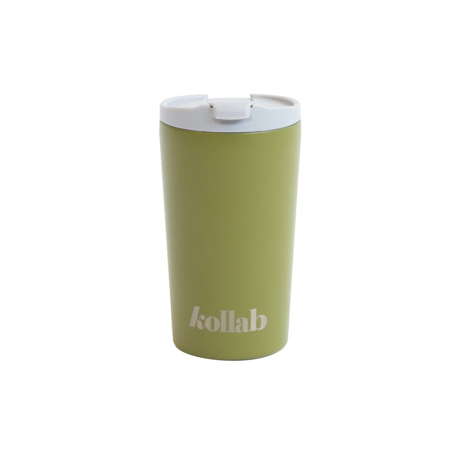 Kollab - Reusable Coffee Cup - Khaki