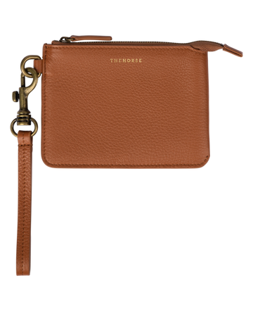 The Horse - Lobster Leather Pouch - Tan