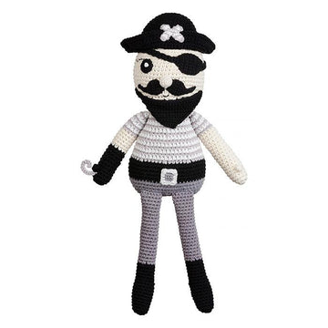 Miann & Co - Large Soft Toy - Pete Pirate