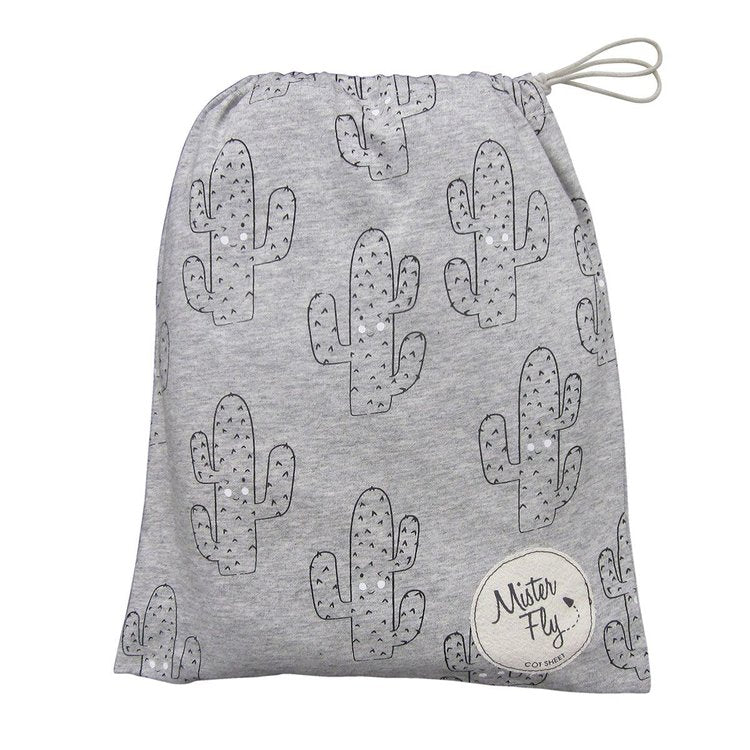 Mister Fly - Cactus Jersey Cot Sheets