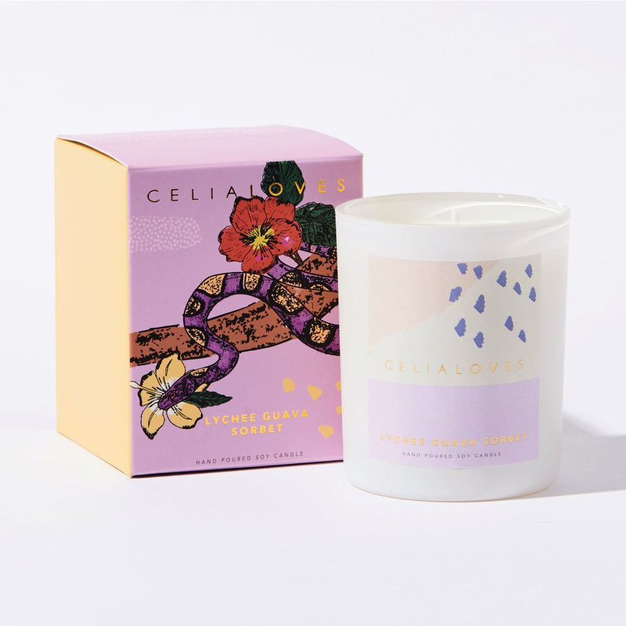 Celia Loves - Lycee Guava Scented Candle 40hrs