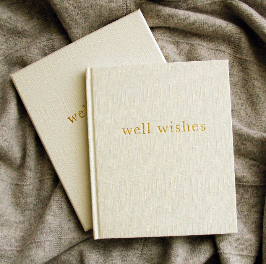 Write to Me - Well Wishes - Guest Book • White