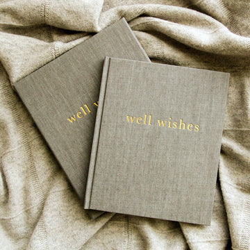 Write to Me - Well Wishes - Guest Book • Grey