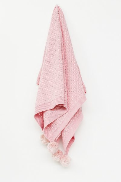 Di Lusso - Milly Baby Blanket - Pink