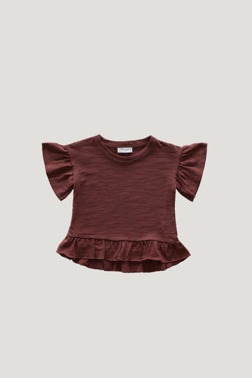 Jamie Kay - Slub Cotton Eden Top - Clay