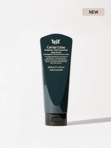 Leif - Caviar Lime Body Scrub 180ml