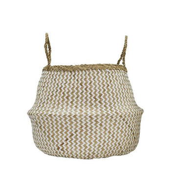 Olli Ella - Zig Zag Belly Basket Medium