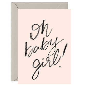 Galina Dixon - Oh Baby Girl! - Greeting Card