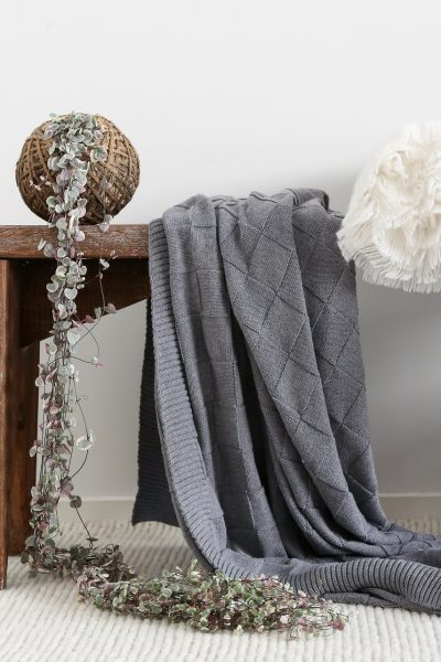 Di Lusso - Prospect Throw - Grey