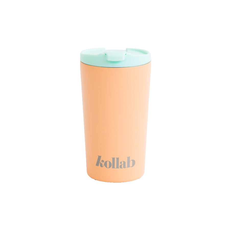 Kollab -  Reusable Coffee Cup - Peach
