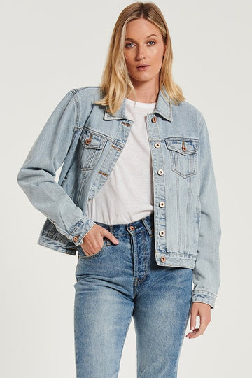 Bohemian Traders - Classic Denim Jacket - Ice Blue