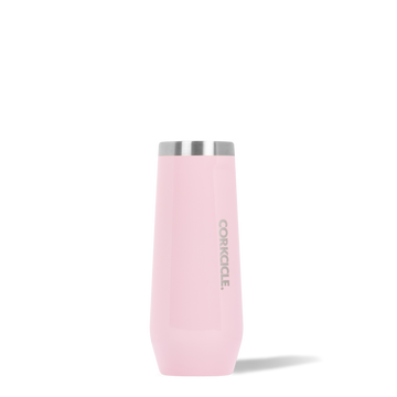 Corkcicle - Stemless Champagne Flute - 8oz - Rose Quartz